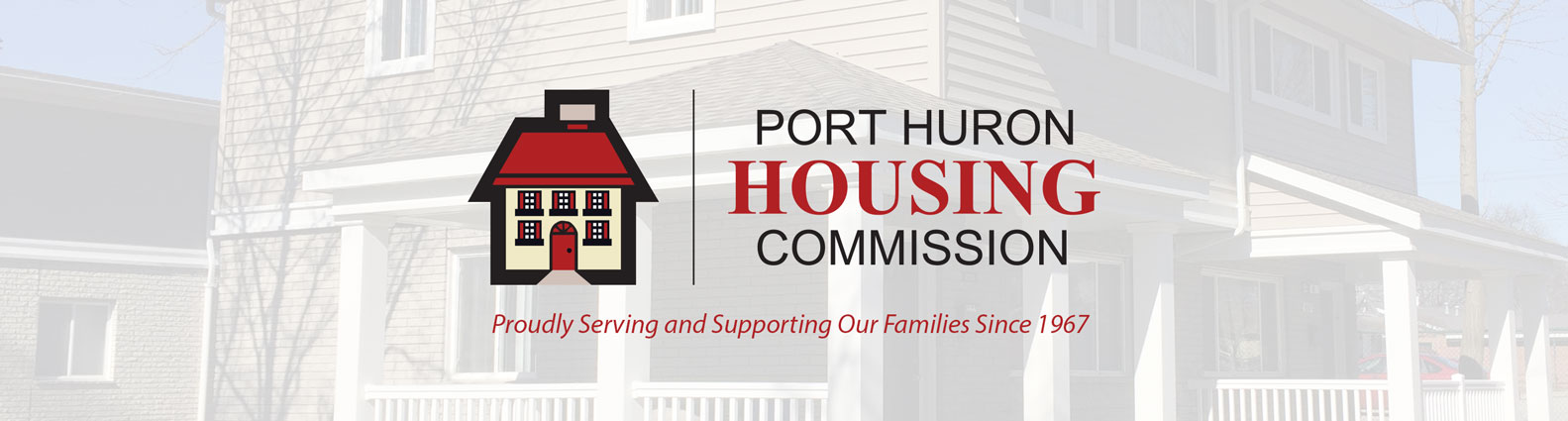 Port Huron Housing Commission Logo Banner