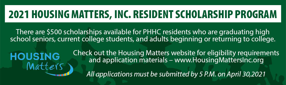 Housing Matters scholarships available