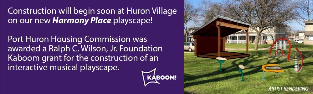 Harmony Place playscape coming soon